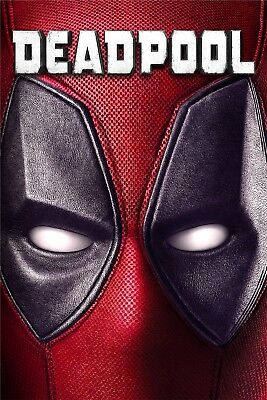 """Deadpool"".. Ryan Reynolds Classic Super Hero Movie Poster 2..Various Sizes"
