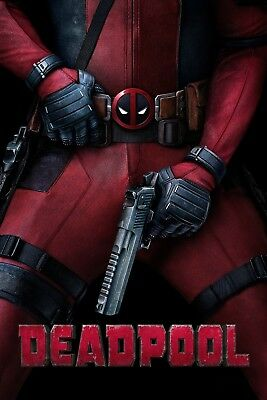 """Deadpool"".. Ryan Reynolds Classic Super Hero Movie Poster 3..Various Sizes"