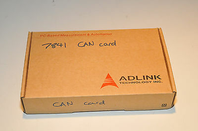 Adlink cPCI-7841 Dual-port Isolated CAN Interface Card  New in the box!
