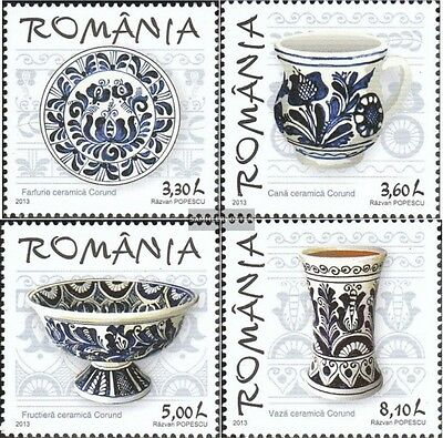 Romania 6766-6769 (complete.issue.) unmounted mint / never hinged 2013 Tradition