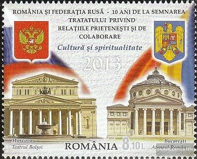 Romania 6725 (complete.issue.) unmounted mint / never hinged 2013 Russian Promot