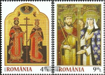 Romania 6707-6708 (complete.issue.) unmounted mint / never hinged 2013 Milan edi