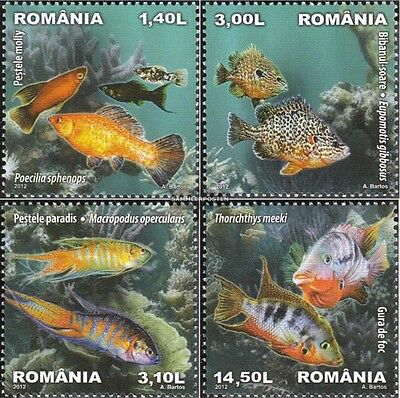 Romania 6625-6628 (complete.issue.) unmounted mint / never hinged 2012 Ornamenta