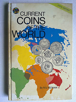 9383 CURRENT COINS OF THE WORLD By R.S.YEOMAN