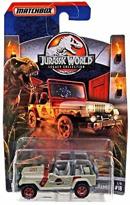 Jurassic World Legacy Collection Matchbox Jeep Wrangler #18 / Target Excl.