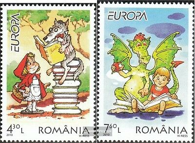 Romania 6427-6428 (complete.issue.) unmounted mint / never hinged 2010 Europe: c