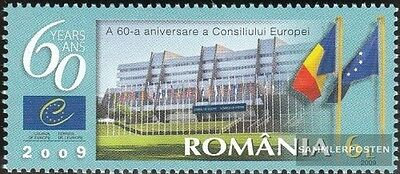 Romania 6359 (complete.issue.) unmounted mint / never hinged 2009 60Jahre Europe