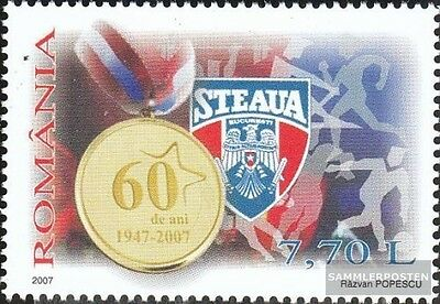 Romania 6203 (complete.issue.) unmounted mint / never hinged 2007 Armeesportclub
