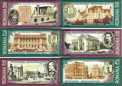 Romania 6192-6197 (complete.issue.) unmounted mint / never hinged 2007 that Old