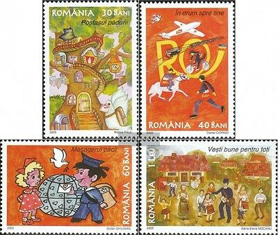 Romania 5978-5981 (complete.issue.) unmounted mint / never hinged 2005 Flutkatas