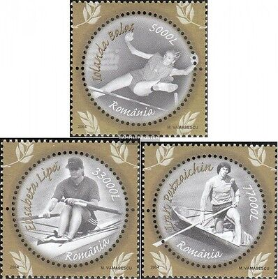 Romania 5889-5891 (complete.issue.) unmounted mint / never hinged 2004 known Ath