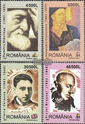 Romania 5737-5740 (complete.issue.) unmounted mint / never hinged 2003 100.Birth