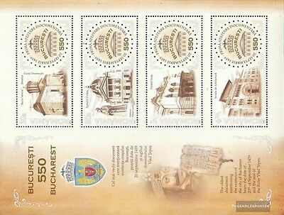 Romania Block451 (complete.issue.) unmounted mint / never hinged 2009 550Jahre B