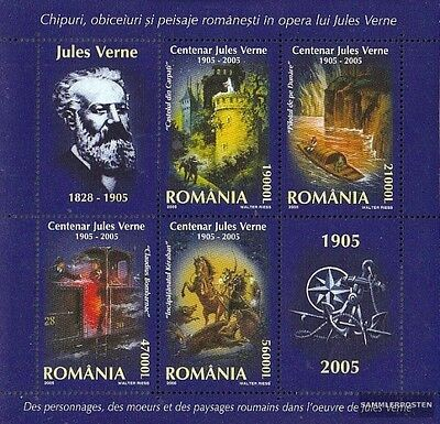 Romania Block352 (complete.issue.) unmounted mint / never hinged 2005 Jules Vern