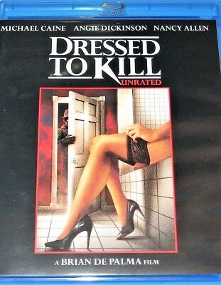 Dressed To Kill (Blu Ray, 2011, Unrated)