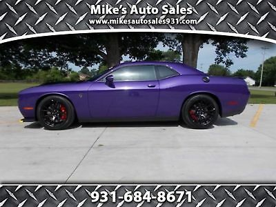 Dodge Challenger SRT Hellcat 2016 Plum Crazy Purple SRT Hellcat! Brand New, Only 95 Miles,6 Speed Manual!