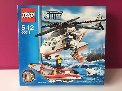 Lego City Coast Guard Helicopter 60013 Complete With Instructions