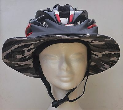 Helmet brim for bicycle and activity helmets