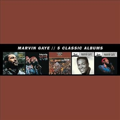 5 Classic Albums [Box] by Marvin Gaye (CD, 2013, 5 Discs, Motown) SEALED