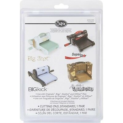 Sizzix BIGkick/Big Shot Cutting Pads 1 Pair - Standards