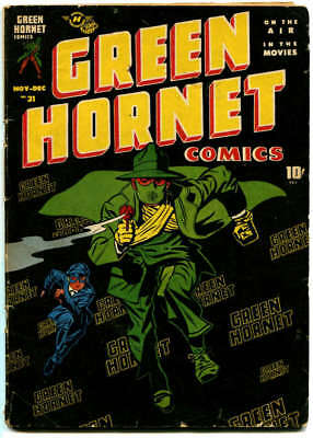 GREEN HORNET #31 - Complete;  Nov-Dec 1946; 1st Man in Black