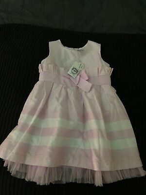 New Target With Tags Baby Girl Toddler Dress Size 12 - 18 Mths Up To 12kgs Pink