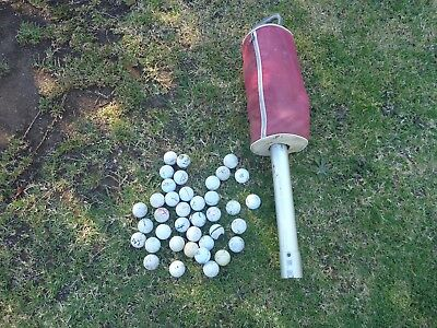 Golf ball collector for practice,includes 38 balls