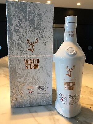 Glenfiddich Winter Storm 21 Year Old Scotch Whisky 700ml - 1 of only 2 avaliable