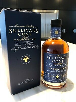 Sullivans Cove French Oak Tasmanian Malt Whisky 700ml Extremely Rare x1