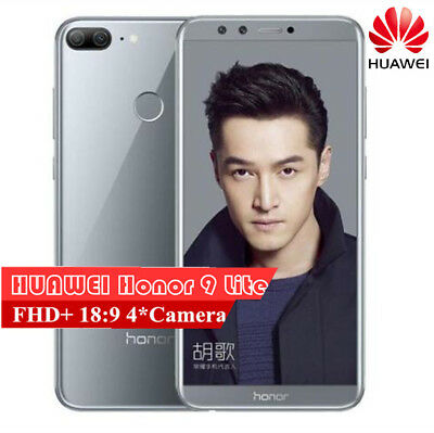 "5.65"" Huawei Honor 9 Lite Gris 4+32Go 4*Camera Android 8.0 4G Téléphone OctaCore"