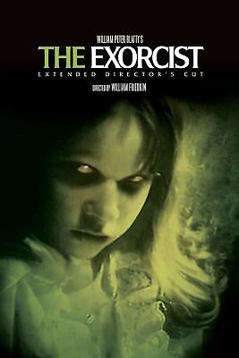 """""""The Exorcist""""...Linda Blair Classic Horror Movie Poster 3 ..Various Sizes"""