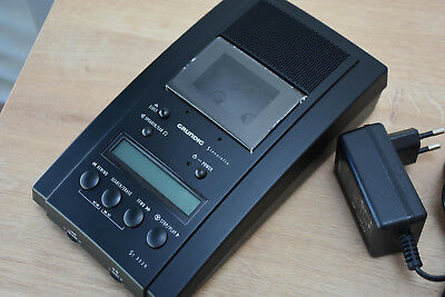 BARELY USED Grundig Stenorette ST 3220 Steno Cassette Transcription Machine