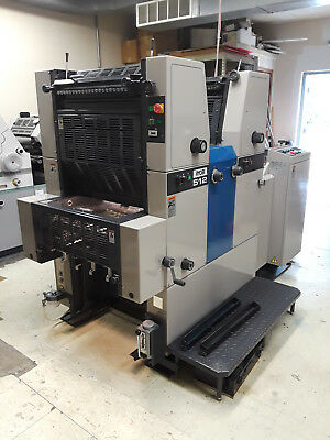 Ryobi 512 2 Color Offset  Printing Press Machine - Very good condition