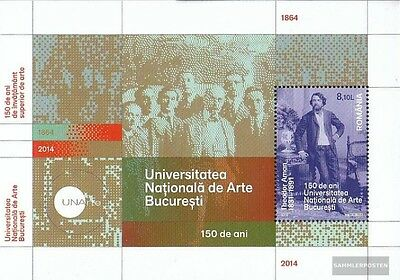 Romania Block590 (complete.issue.) unmounted mint / never hinged 2014 kunsthochs