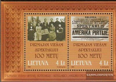 Lithuania block16 (complete.issue.) unmounted mint / never hinged 1999 Keturakis