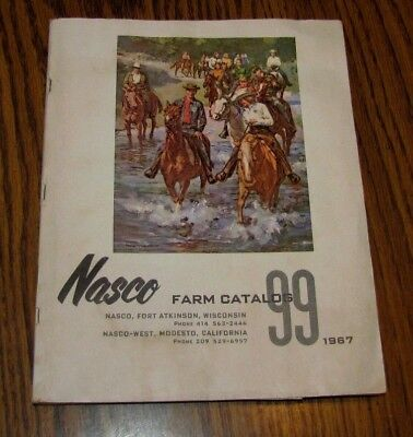 NASCO Vintage 1967 FARM SUPPLIES CATALOG LIVESTOCK,HORSE,DAIRY,VETERINARY 255pg