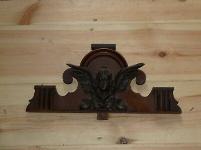 Antique top part for Vienna wall clock c1880