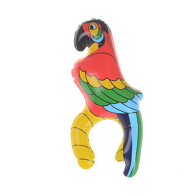 Inflatable Blow Up Parrot Hawaiian Tropical Pirate Party Decoration Toy ME