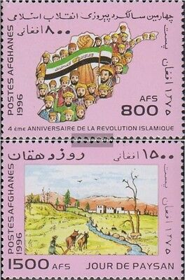 Afghanistan 1708-1709 (complete.issue.) unmounted mint / never hinged 1996 Anniv