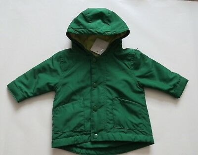 Next Baby Green Hood Jackets Size Up to 3mths