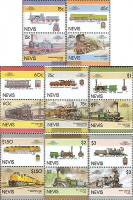 Nevis 414-429 Couples (complete.issue.) unmounted mint / never hinged 1986 Locom
