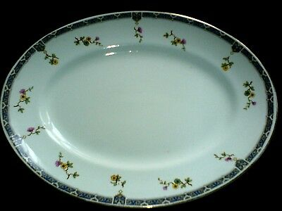 ROYAL STAFFORDSHIRE A.J. WILKINSON LTD Oval Plate / Platter   -  12 ½ inch