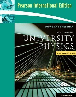 Sears & Zemanskys University Physics by Young, Hugh D Book The Cheap Fast Free