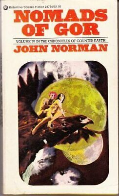 Nomads of Gor by John Norman Book The Cheap Fast Free Post