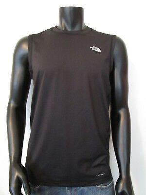 f426bcc728e5d Mens The North Face OnTheGo Sleeveless Tank Top Active Flashdry Tee T-Shirt  Blac