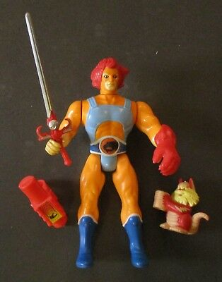 Thundercats  Lion-O   Vintage Figure   Loose  With Weapons