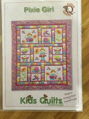 Kids Quilt Pattern Pixie Girl