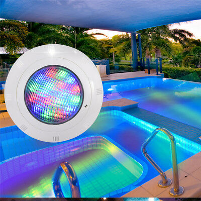 19LED 12V 36W 7 Color RGB Underwater Swimming Pool Bright Light + Remote Control