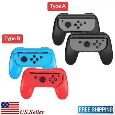 2 Pack Joy-Con Controller Handle Grip For Nintendo Switch Console