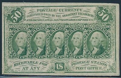 Fr1312 First Issue 50¢ Fractional Currency Very Choice Unc Bu3574